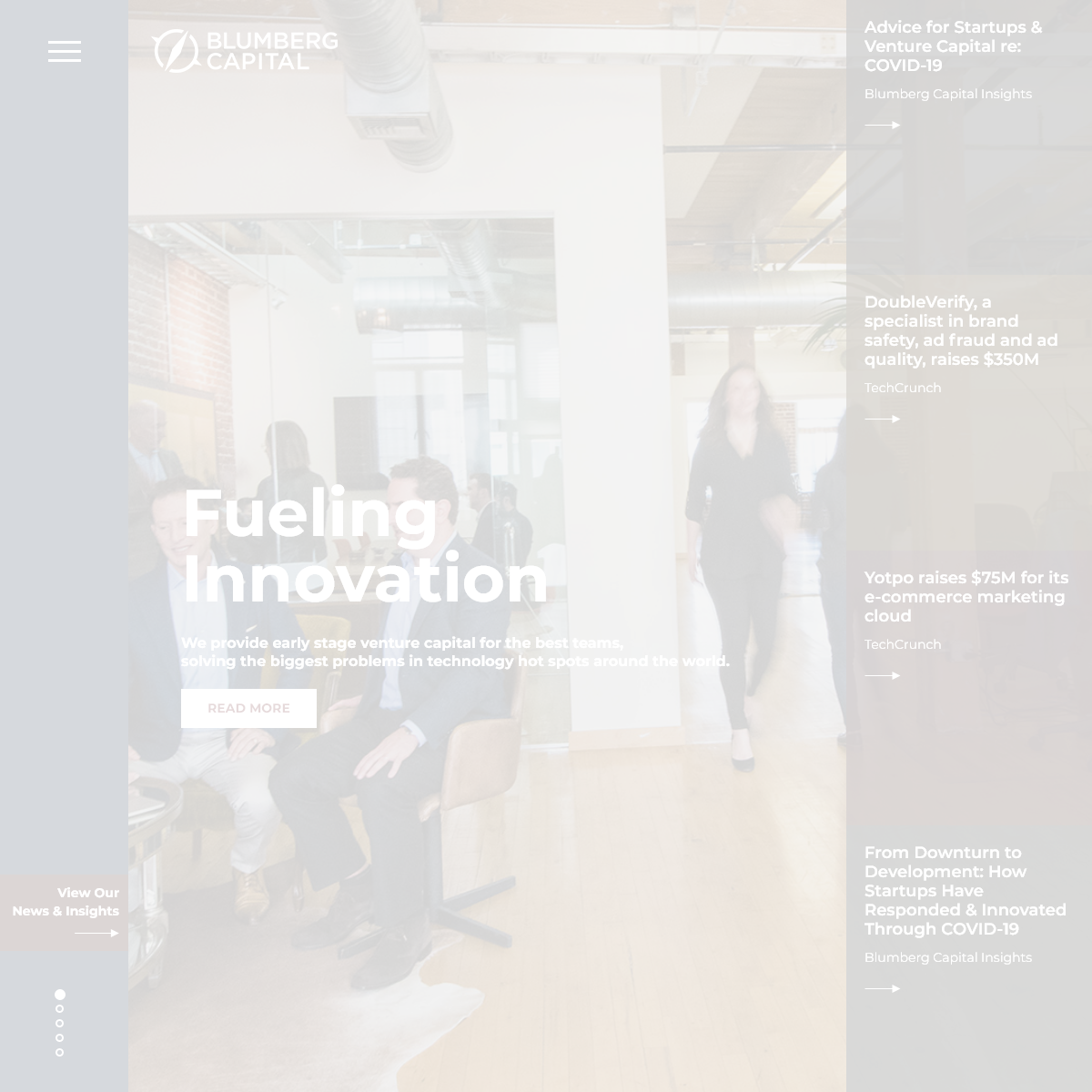 Early Stage Venture Capital Firm - Blumberg Capital