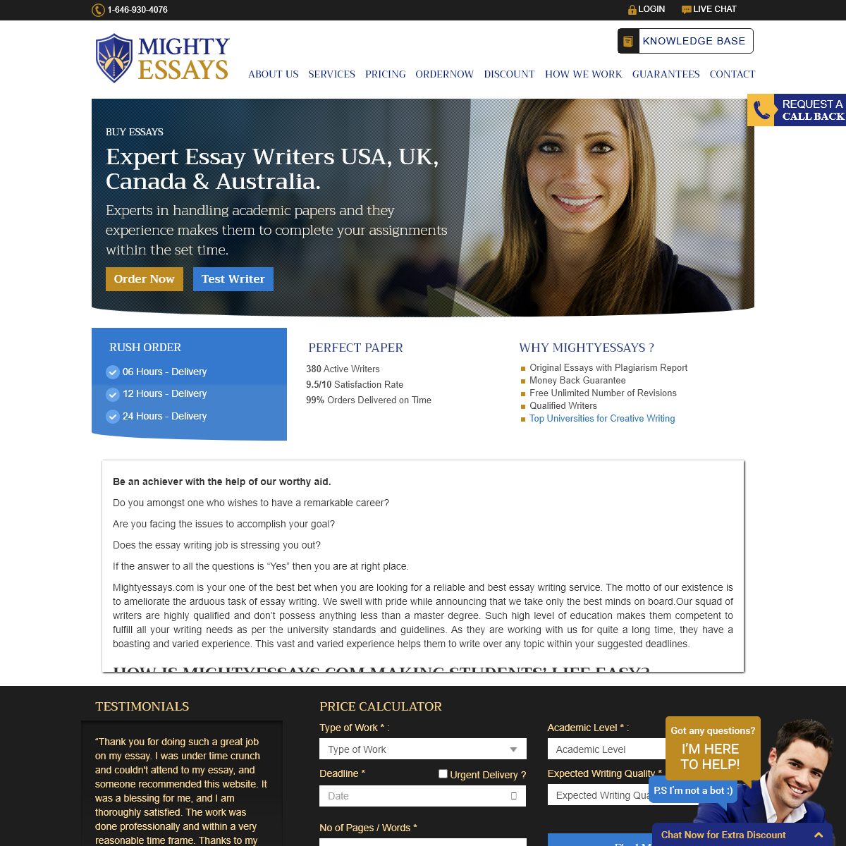 Buy Essays Online Written By The Professional Writers -Mightyessays.com
