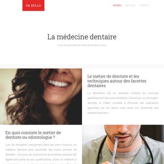 GB Hello - Le blog sur le métier de dentiste