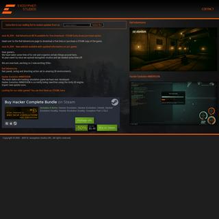 exosyphen studios - developers of Hacker Evolution, Rail Adventures