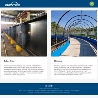 Irontec - Construção e Estrutura Metálica