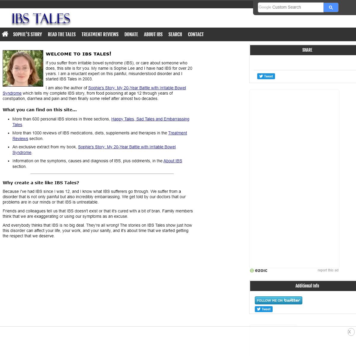 IBS Tales