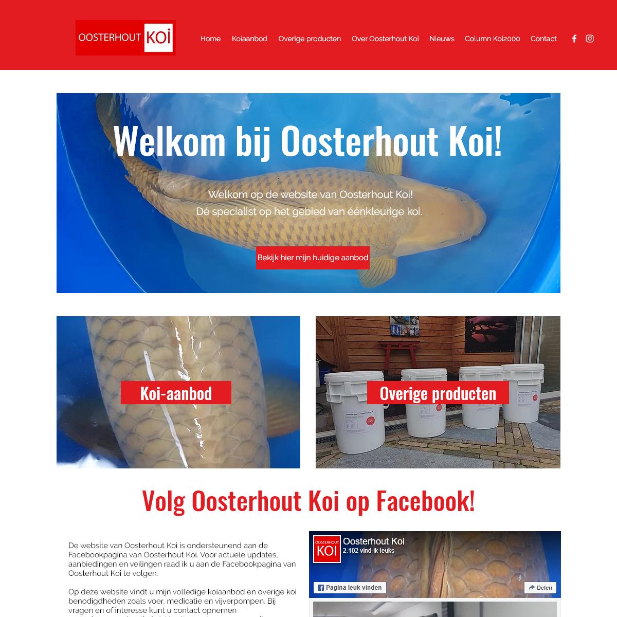 Koi Dealer - Oosterhout Koi