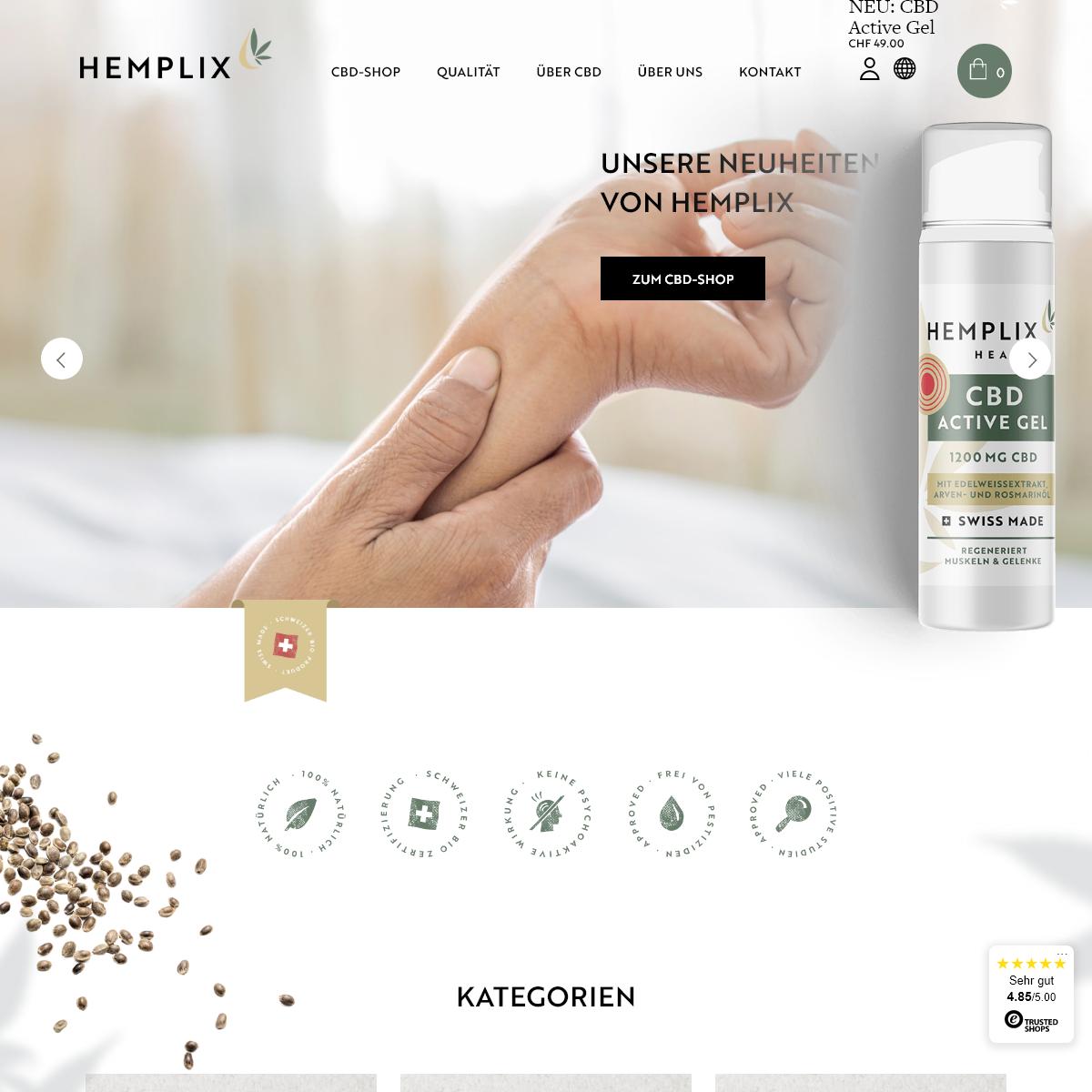 Home – Hemplix CBD Shop