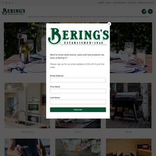 Bering`s