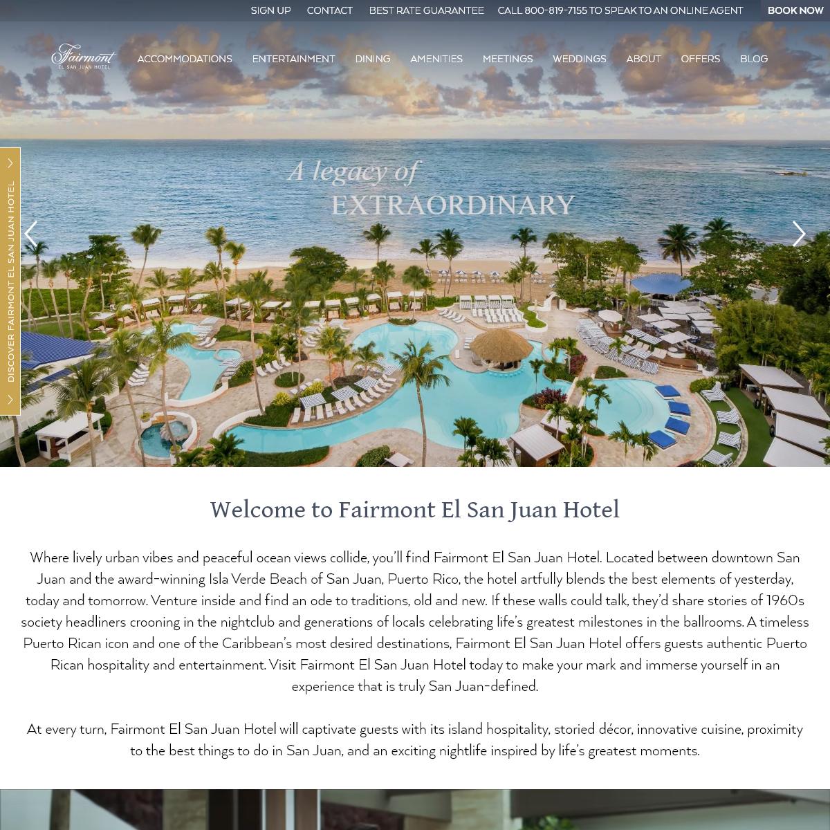 El San Juan Hotel - Puerto Rico Resorts