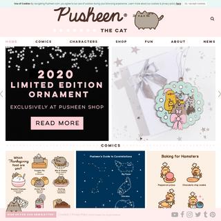 Pusheen - Pusheen.com