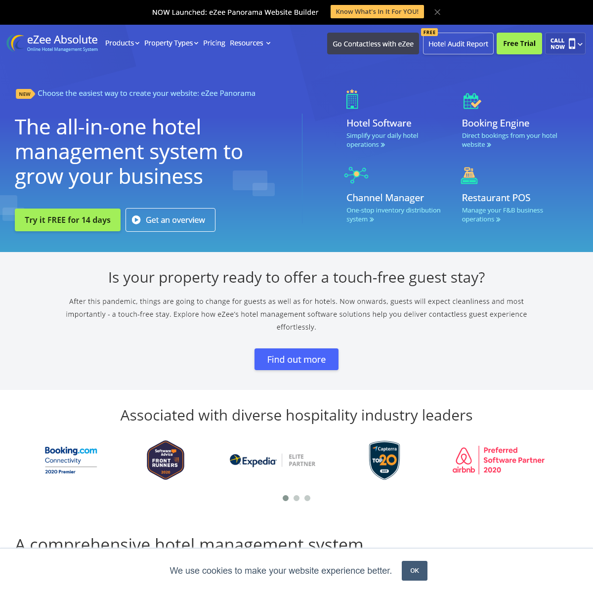 Hotel Management System - Best Rated Cloud Hotel Software & PMS App