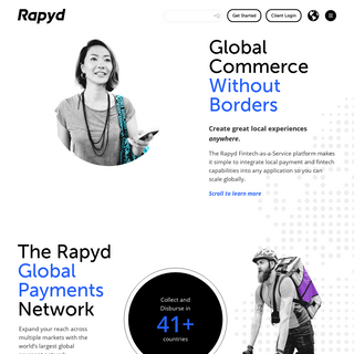 The World`s Largest Local Payments Network - Global and Local Payment Processing - Rapyd