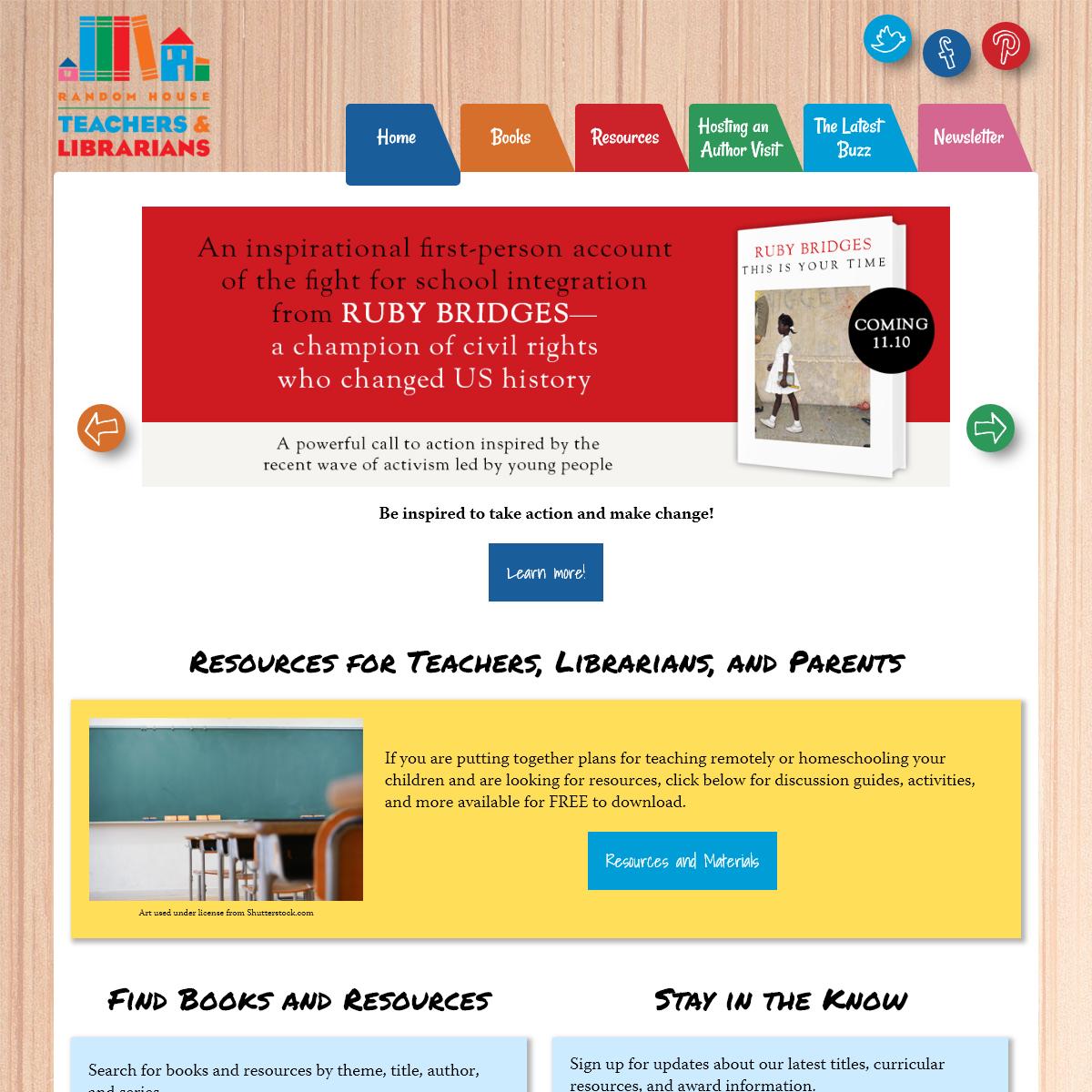 Random House Teachers and Librarians