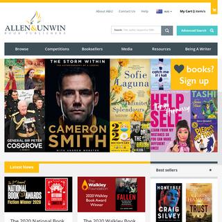 Home - Allen & Unwin - Australia