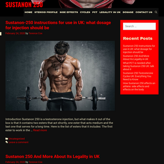 All you need to know about Sustanon 250 in the UK today- composition, indications, dosage, side effects