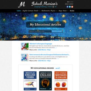 Jakub Marian's Educational Blog