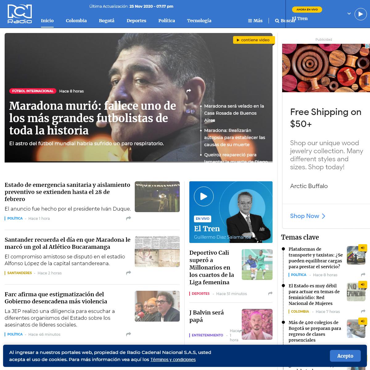 Últimas Noticias de Colombia y el mundo - Noticias - RCN Radio