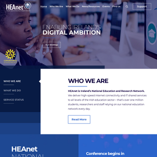 HEAnet – Ireland`s National Research & Education Network