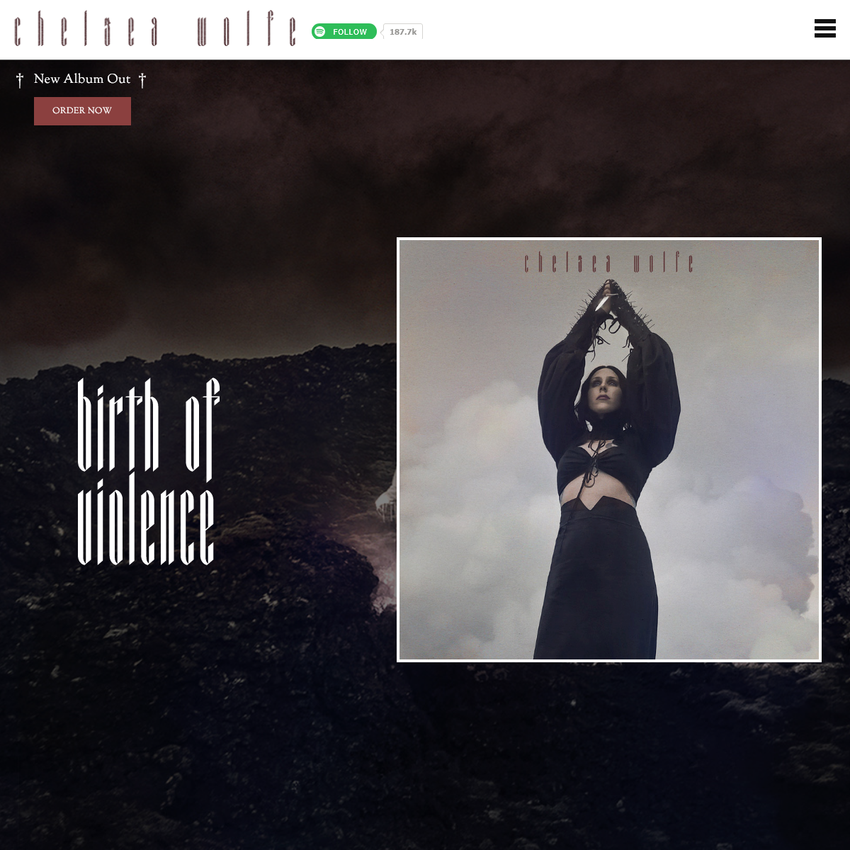 Chelsea Wolfe – BIRTH OF VIOLENCE