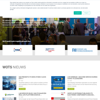 Bezoekers home - World of Technology & Science 2020
