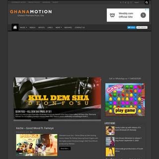 Ghanamotion.com - Ghana Music, Africa Music & Multimedia