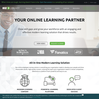 Online Employee Training for the Modern Learner - BizLibrary