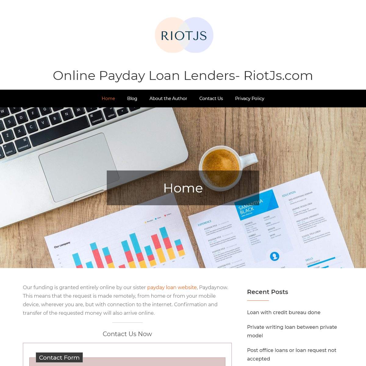 Online Payday Loan Lenders- RiotJs.com