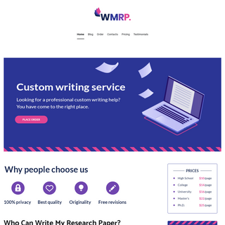Write My Research Paper • Reliable Writing Service For Students