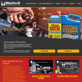 Auto Care Products - Car Care Products - BlueDevil Products