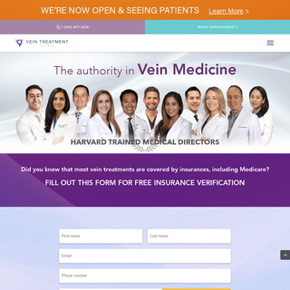 Harvard Trained Vein Doctors - Voted #1 Spider and Varicose Vein Treatment Center in New York, New Jersey, San Diego, and Housto
