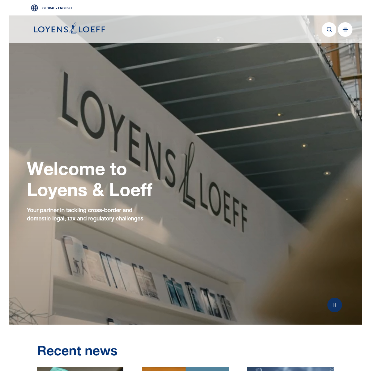 Integrated legal and tax advice - Loyens & Loeff