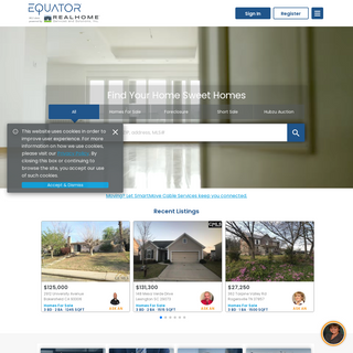 Homes for Sale and Real Estate Home Listings - EQUATOR