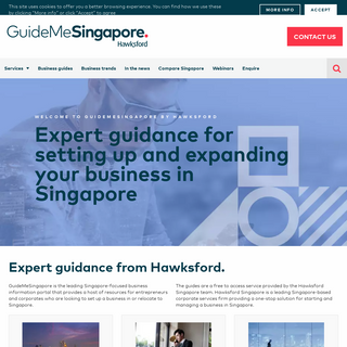 Singapore`s Leading Business Information Portal - GuideMeSingapore - by Hawksford