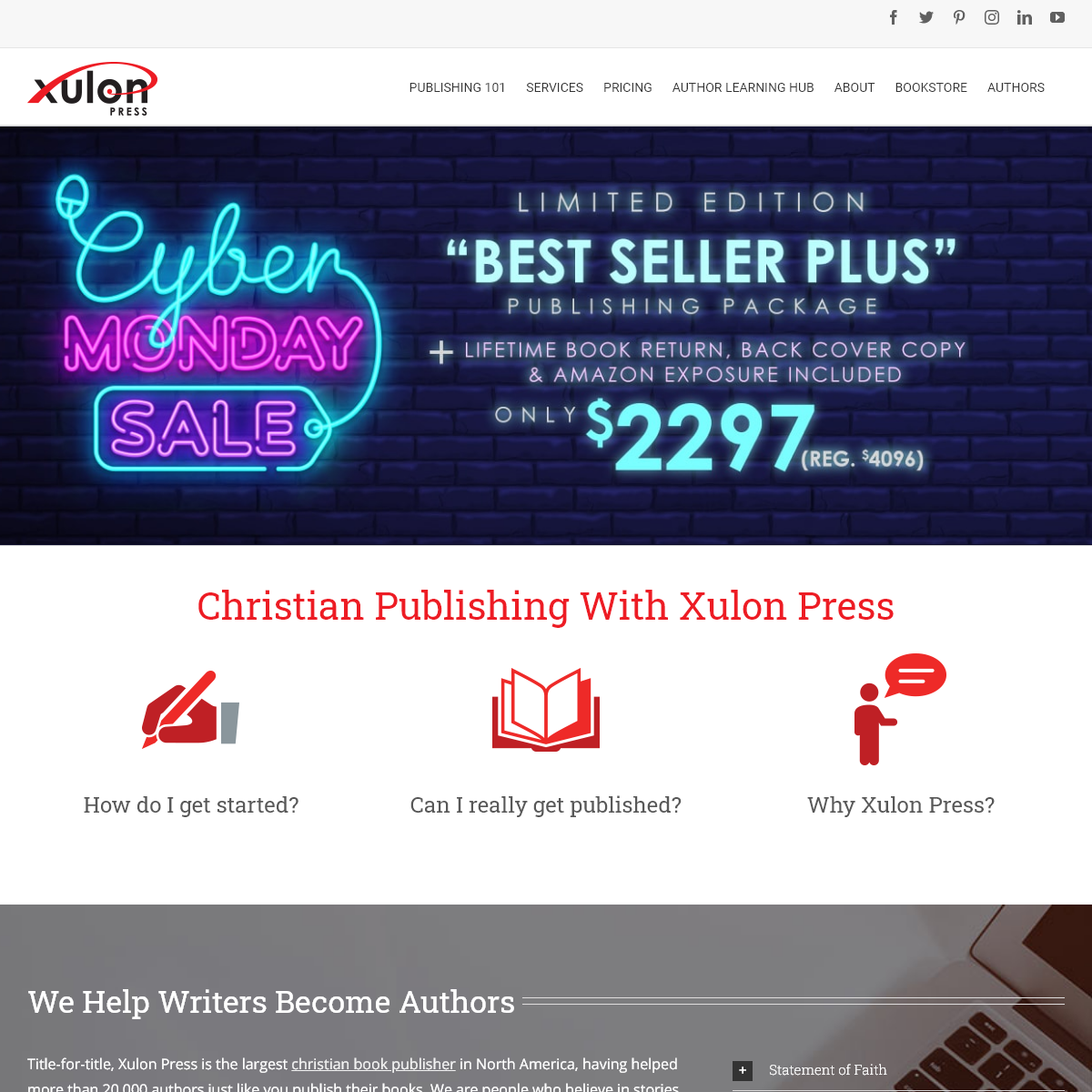 Christian Publishing - Xulon Press Christian Self-Publisher