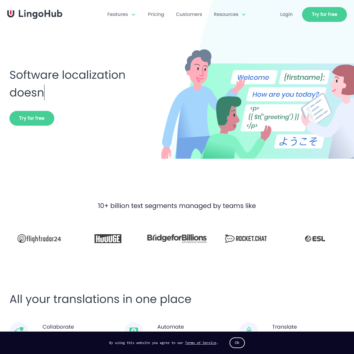 LingoHub- Your Localization and Translation Management Software