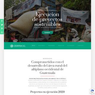 Comprometidos con el desarrollo del área rural de Guatemala