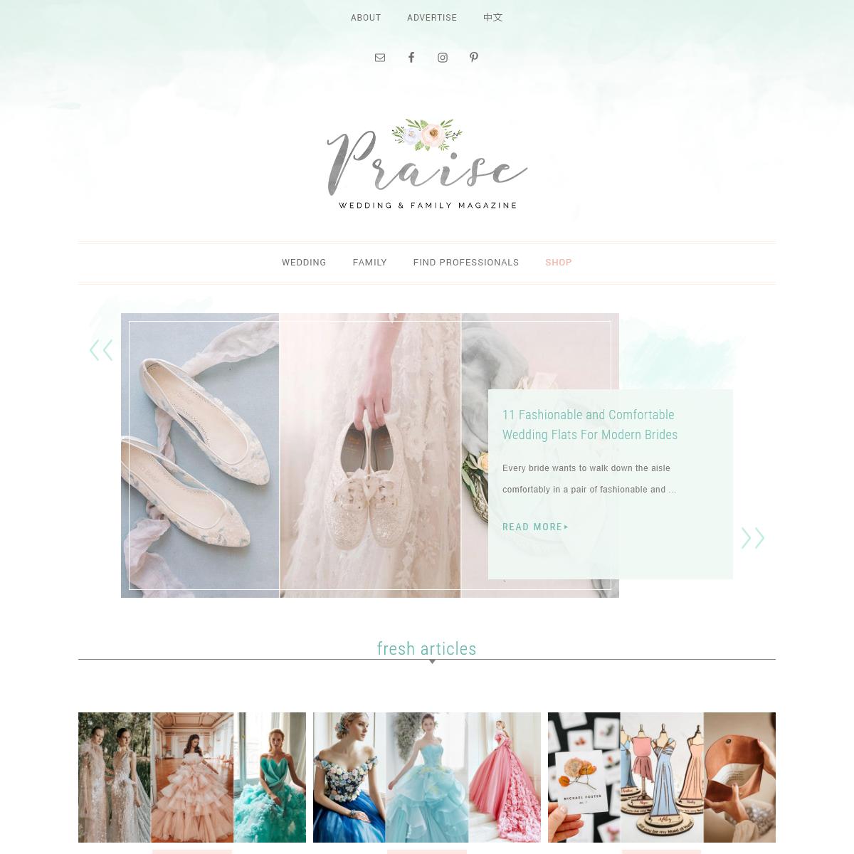 Praise Wedding - International Wedding and Family Online Magazine - Wedding Ideas, Wedding Dresses, Wedding Vendors, Wedding Pho