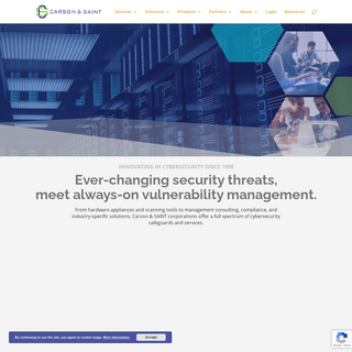 Carson-SAINT Cyber Security Vulnerability Management and Consulting