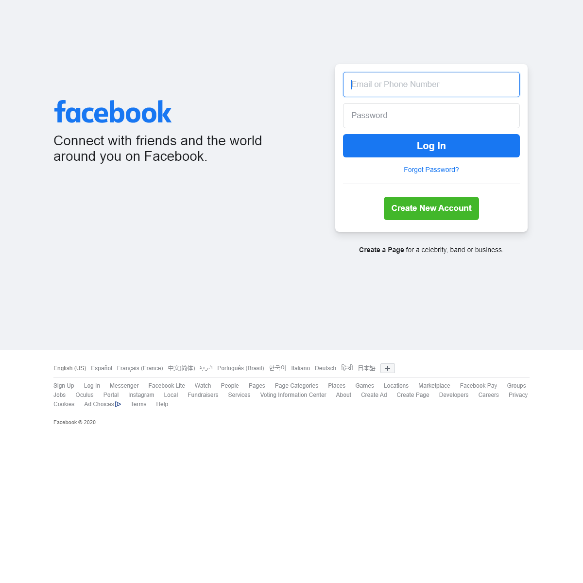 Facebook - Log In or Sign Up