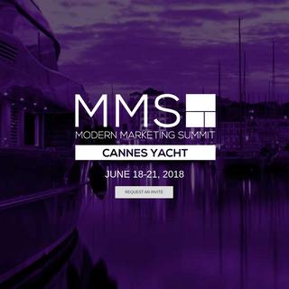 Cannes 2018 - Modern Marketing Summit