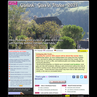 Gites in France - holiday cottages direct from owners