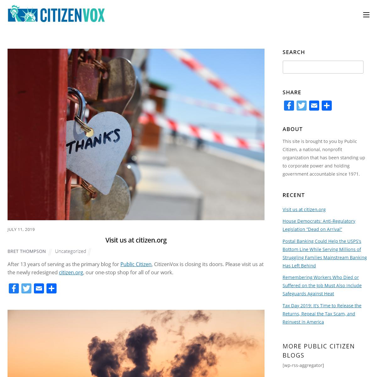 CitizenVox - CitizenVox