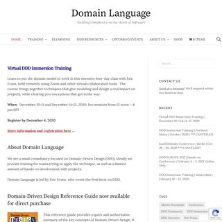 Home - Domain Language
