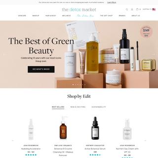 Green Beauty, Organic Skincare, Natural Makeup - Free US Shipping $80+