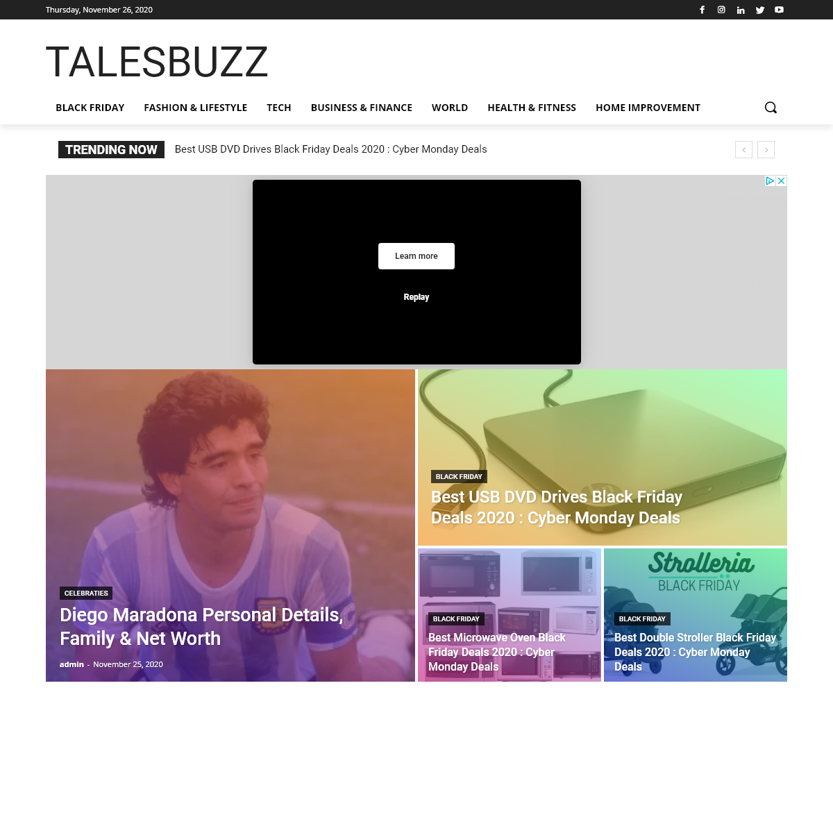Talesbuzz - Savour The Flavour Of interesting News Stories