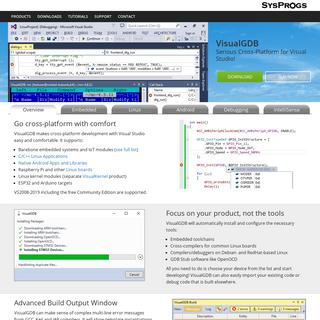 VisualGDB - Serious cross-platform support for Visual Studio