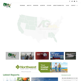 AG INFORMATION NETWORK OF THE WEST