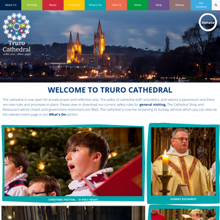 Truro Cathedral - Welcome to Truro Cathedral