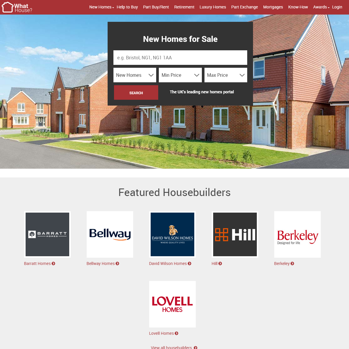New Homes for Sale - Whathouse.com