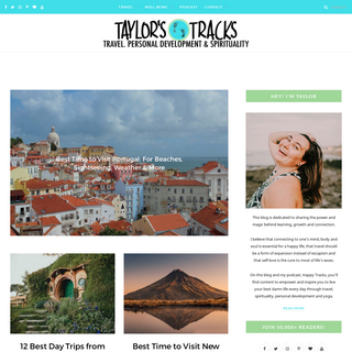 Taylor`s Tracks - Travel, Personal Development, Spirituality & Yoga