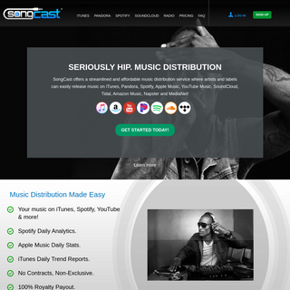 Music Distribution – Sell Music Online - SongCast