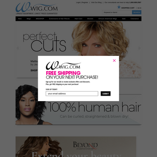 Wigs & Hairpieces For Women- Human Hair & Synthetic Wig Styles - Wig.com