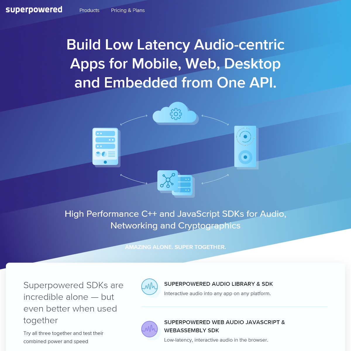 Build Low Latency Audio-centric Apps for Mobile, Web, Desktop and Embedded from One API - Superpowered